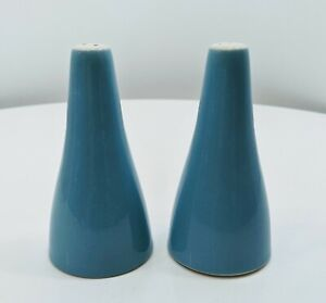 Royal-China-Mid-Century-Modern-Blue-Heaven-Salt-amp-Pepper-Shakers-MCM-Atomic