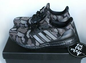Details about Adidas x Bape Ultra Boost Black Camo Superbowl SB UK 5 6 7 8 9 10 11 12 US New