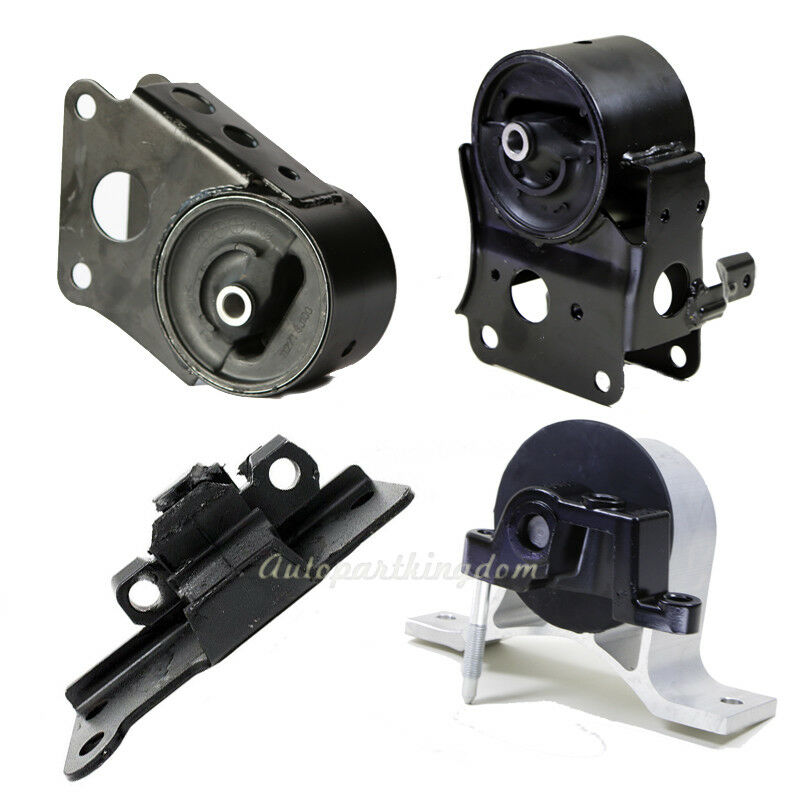 Engine Motor Amp Transmission Mount Set 4pcs For 2003 2007 Nissan Murano 3 5l 2wd Ebay