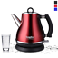 1.2L Colorful 304 Stainless Steel Electric Kettle Cordless 1500W Quick Heating