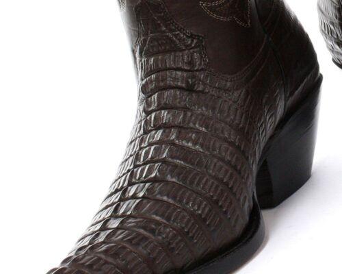 coccodrillo di marrone pelle in da Western Stivali da uomo cowboy cowboy da OnqBxaw8