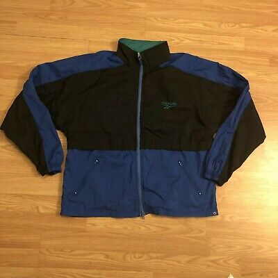 d92fe290bd65c Reebok Vintage 80s 90s Retro Track Training Windbreaker Jacket Color block  M | eBay