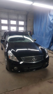 2012 infiniti g25x AWD black on black clean