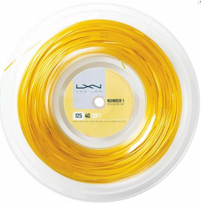 Luxilon 4G 125 125 125 Soft 200 m Tennissaiten Tennis Strings e167de