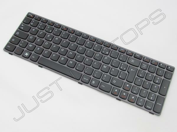 New Original Lenovo IdeaPad G580 French Keyboard Francais Clavier Grey