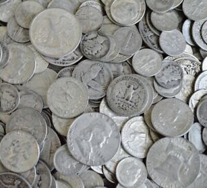 1-Face-Value-90-Silver-US-Coins-Half-Dollars-Quarters-amp-Dimes