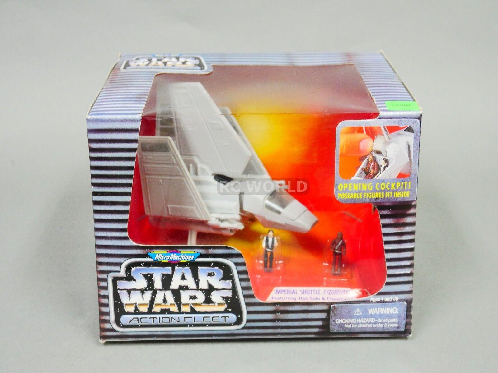 Mikromaskiner från stjärnornas krig Action Flottan kejserlig SHUTTLE TYDIRIUM Han Solo thi35;g4
