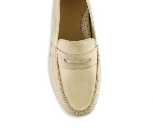 Men Casual Shoes Cole Haan Coburn Penny Driver II Leather Loafers Barley Tan