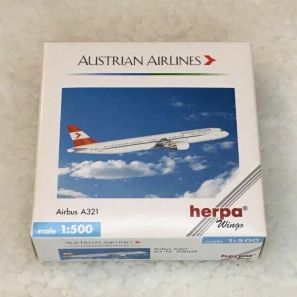 Herpa 512817 ansett australia airbus a320 top con embalaje original 1:500 metal-modelo