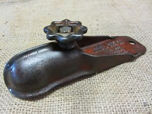 Details about Vintage 1941 Cast Iron Acme Trailer Hitch Receiver > Antique  Old Auto Rare 7387