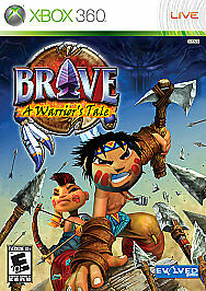 Brave: A Warrior's Tale Xbox 360 Kids Game Family Very Rare! Native American