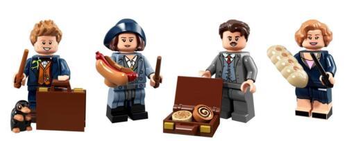 LEGO® Harry Potter Series:Newt Scamander Tina /& Queenie Goldstein Jacob Kowalski