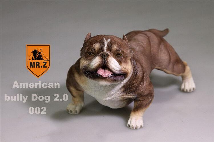 Mr.Z Animal Simulation 1/6 American Bully Dog 2.0 Pitbull For 12