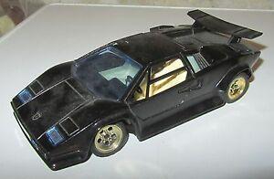 Modellino Majorette Lamborghini Countach Nera Black 1 24 Spese