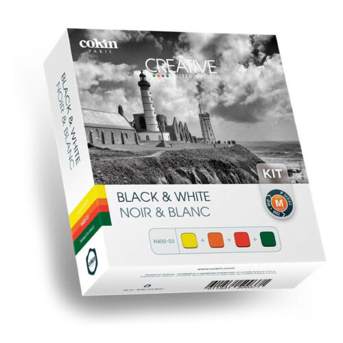 p001, p002, p003, p004 4 filtro Cokin h400-03 Black /& White Kit incl