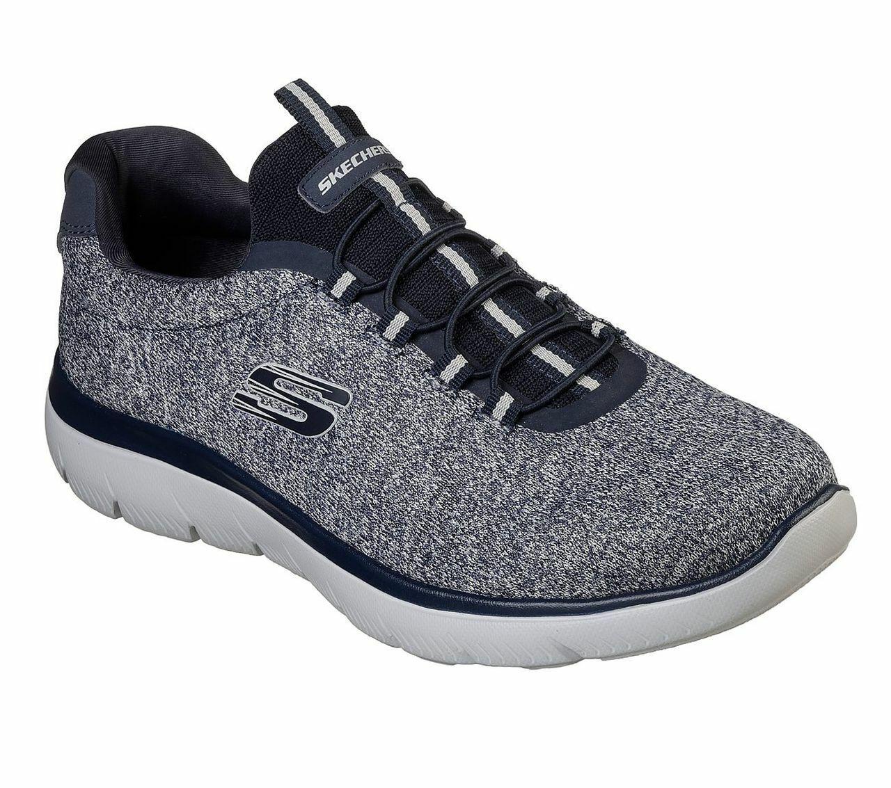 Skechers sport mens summits do zapatos azul man