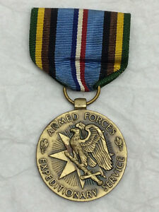 Vintage-Armed-Forces-Expeditionary-Service-Medal-Ribbon