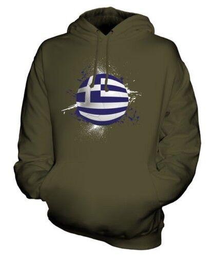 GREECE FOOTBALL UNISEX HOODIE TOP GIFT WORLD CUP SPORT