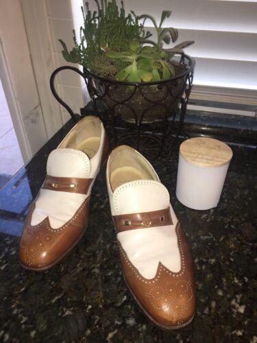 Vintage Florsheim wingtip loafers