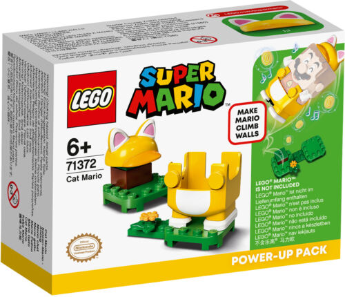 71372 LEGO Super Mario Cat Mario Power-Up Pack Buildable Game 11 Pieces Age 6+