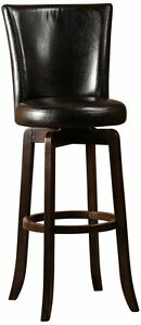Hillsdale 4951 830 Copenhagen Swivel Bar Stool Black