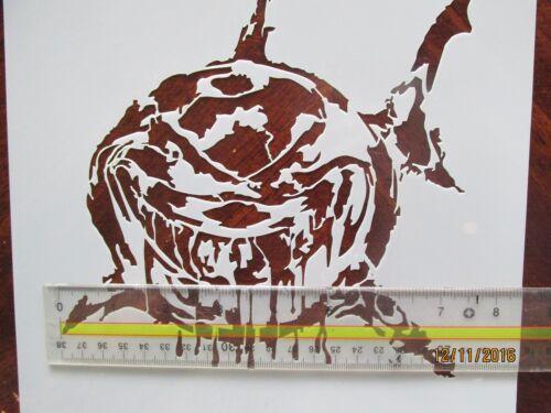 Shark Stencil Reusable 10 mil Mylar Laser Cut Stencil