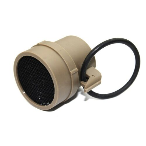 Tactical ACOG Kill Flash with Mesh Cover for Scope Sight Airsoft Gun Black Tan