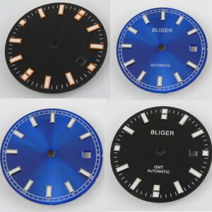 31-5mm-Bliger-Watch-Dial-Date-fit-2836-2824-2813-3804-Miyota-82-Series-movement