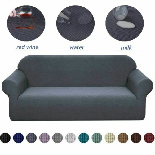 Elastic Stretch Sofa Cover Slipcover Protector Settee 1//2//3//4 Seater Protector