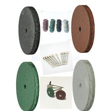 40 Mixed Lab Beauty Silicone Rubber Polishing Wheels+10 Mandrel Shank airgoesin
