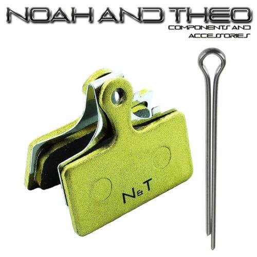 N/&t Shimano F01A F03C G01A G01S G02A XTR Slx Gesinterte Scheibenbremsbeläge