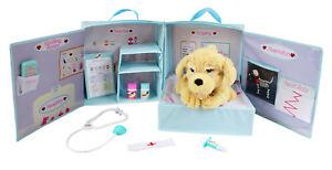 My Pet Vet Max - Le chien Interactive - Peluche, étui de transport et accessoires