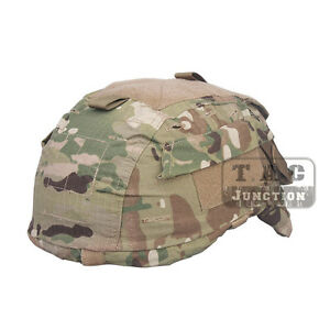 Emerson Tactical ACH MICH Helmet Cover with Pouch for ACH MICH TC 2001 Helmet