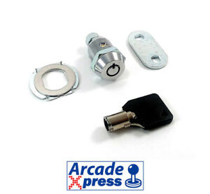 Cerradura 22mm Diámetro 17mm Puerta Arcade Key Lock Door Coin Mechanism