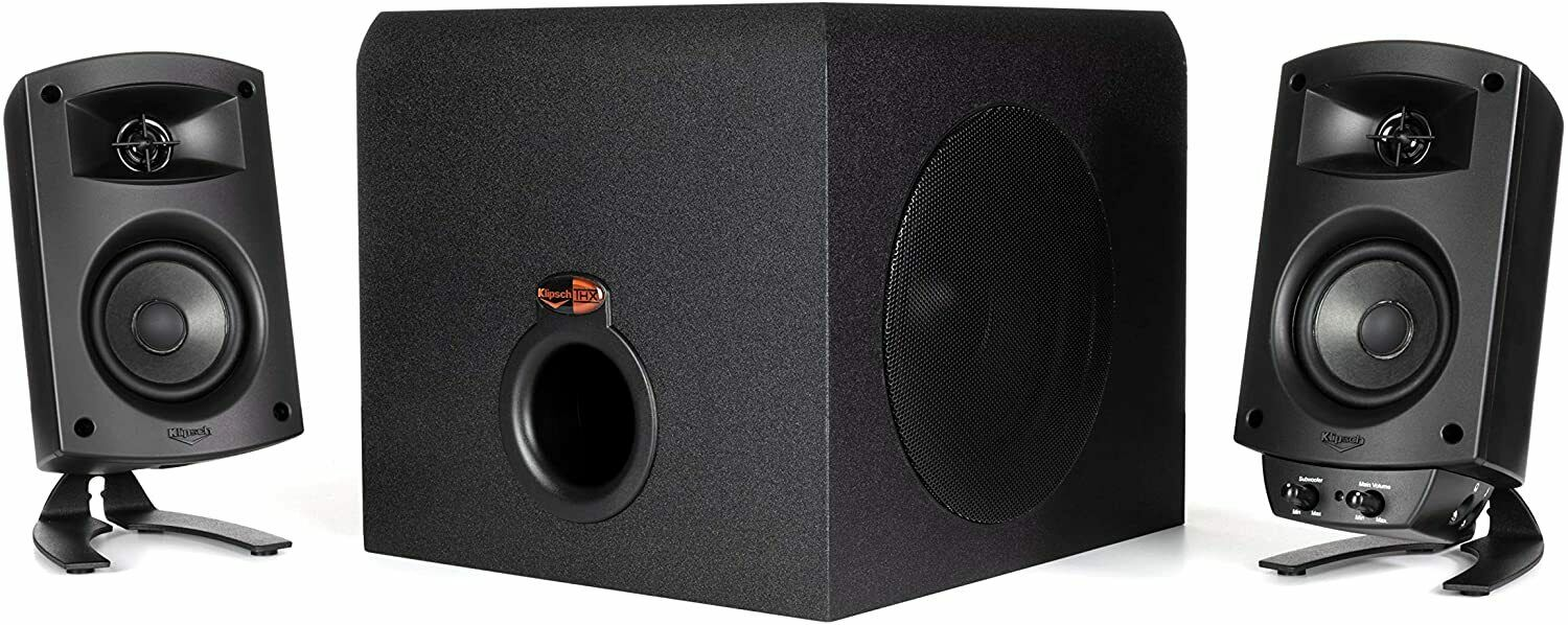 Klipsch ProMedia 2.1 THX Certified Computer Speaker System w/ Subwoofer SEE DESC. Buy it now for 74.98