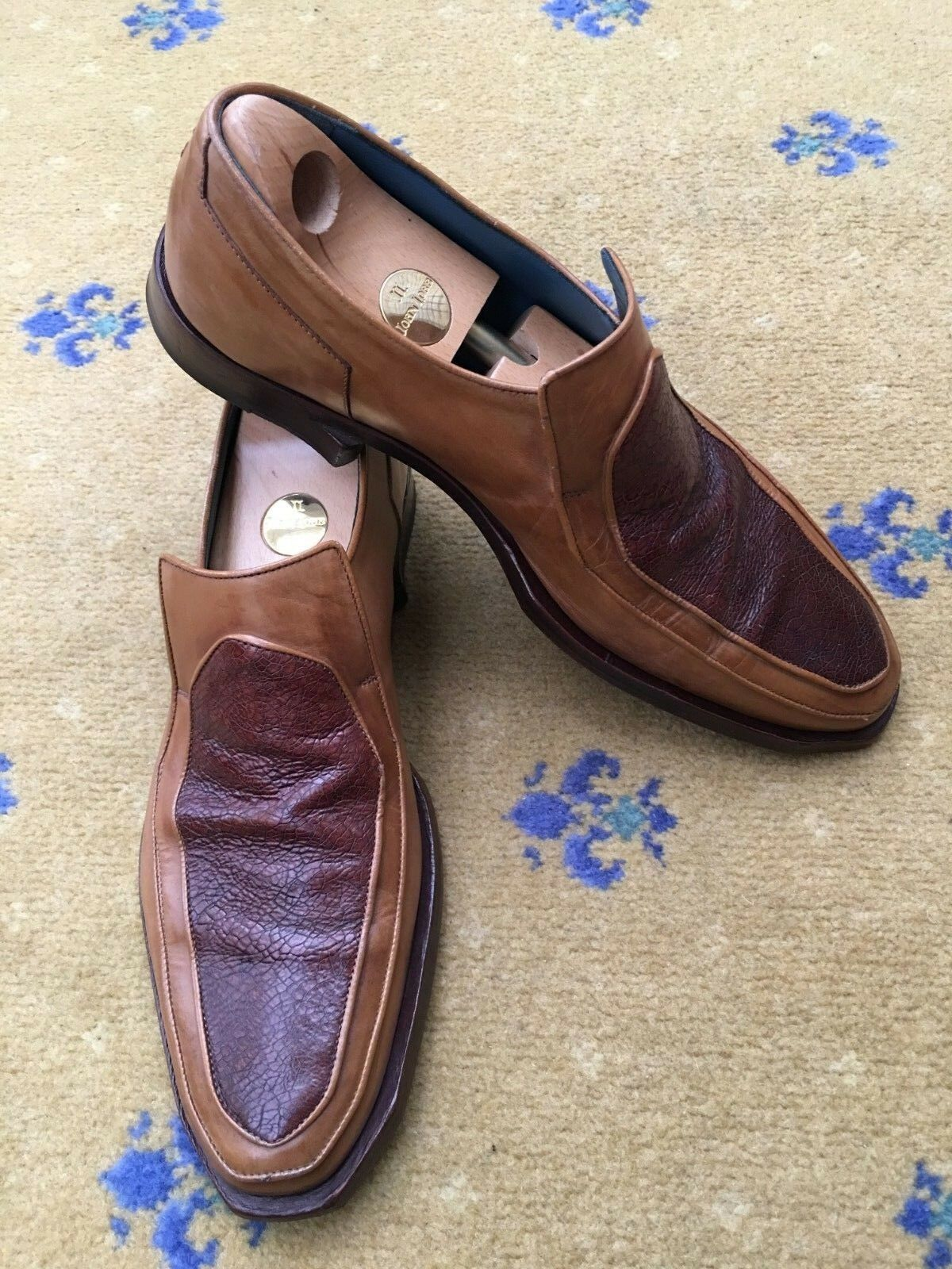 Oliver Schuhes Sweeney   Herren Schuhes Oliver Tan Braun Leder Loafers UK 9 US 10 EU 43 3c40f6