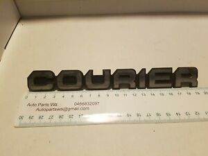 Ford-Courier-name-badge-195mm-as-pictured-excellent-used-condition