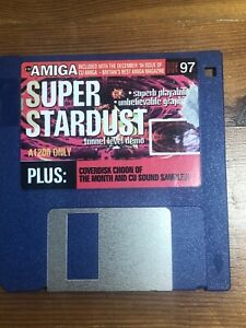 CU-Amiga-Magazine-Cover-Disk-97-Super-Stardust-TESTED-WORKING