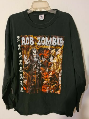 vintage rob zombie hellbilly deluxe   tshirt xl