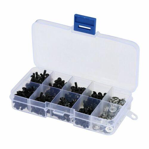 Schrauben Box Set fuer 1//10 HSP Traxxas Tamiya HPI Kyosho D90 SRC10 Fernbedi 2X
