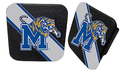 Memphis Tigers Black Metal Hitch Cover
