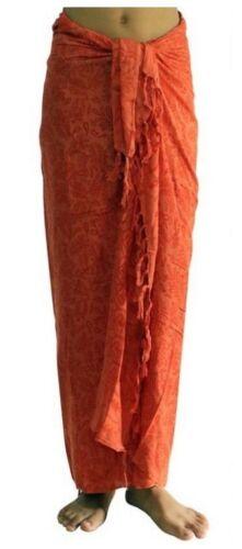 ca.100 Modelle im Shop Sarong Strandtuch Pareo Wickelrock Loop Stola rot Sar60