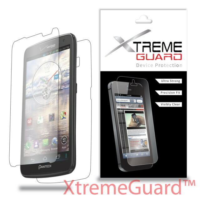 XtremeGuard LCD FULL BODY Screen Protector Skin For Pantech Perception ADR930L