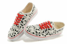 VANS X MICKEY SQUARE OG AUTHENTIC LX DISNEY SKATE TRAINERS SHOES UK 8 RARE