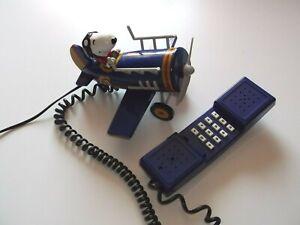 Telefon-034-Snoopy-im-Flugzeug-034-voll-funktionsfaehig