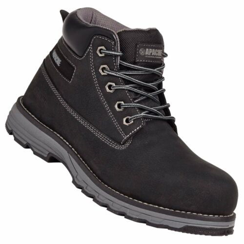APACHE Flyweight Safety Boots S3 WR SRA Rated Black