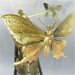 Brillant Pied De Lampe Papillon Art Nouveau @ 1407 Shipping Worldwide - Luminaire Dissipation Rapide De La Chaleur