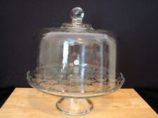 Item 3 New Princess House Fantasia Domed Cake Plate Punch Bowl