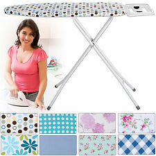 HIGHLANDS DELUXE WIDE METAL IRONING BOARD IRON RACK 10STEP HEIGHT from 14.95