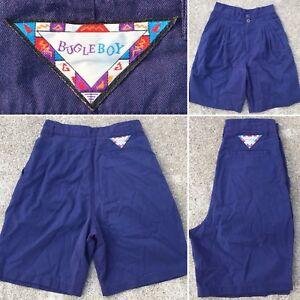 "0d612ff2587e Vintage Bugle Boy Shorts High Waist Sz 9 27"" Waist 80s 90s 1980s | eBay"